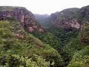 Pachmarhi A Very Famous Hill Station, Also Known As A Queen