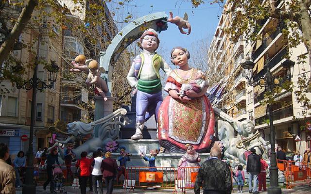 Las Fallas   In Valencia Spain Feast Carnival Photos When Is Las Fallas